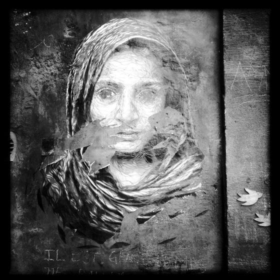 Place Camille Julian Bordeaux, graffiti.